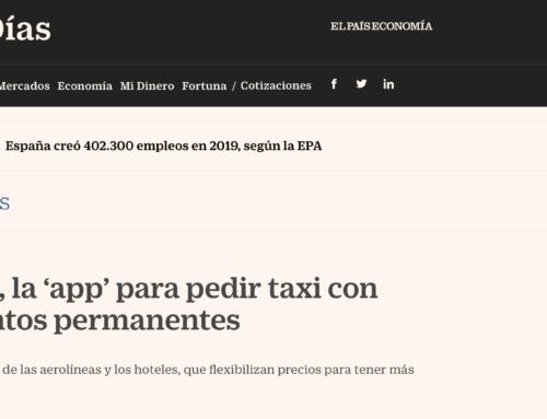 Micocar, la 'app' para pedir taxi con descuentos permanentes